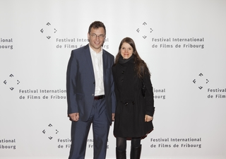 Christophe Giller and his wife