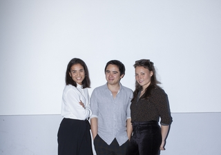 Stéphanie Dauth, David Nguyen et Naomie Margot