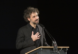 Retrospective 2019 - Álvaro Brechner at the closing ceremony