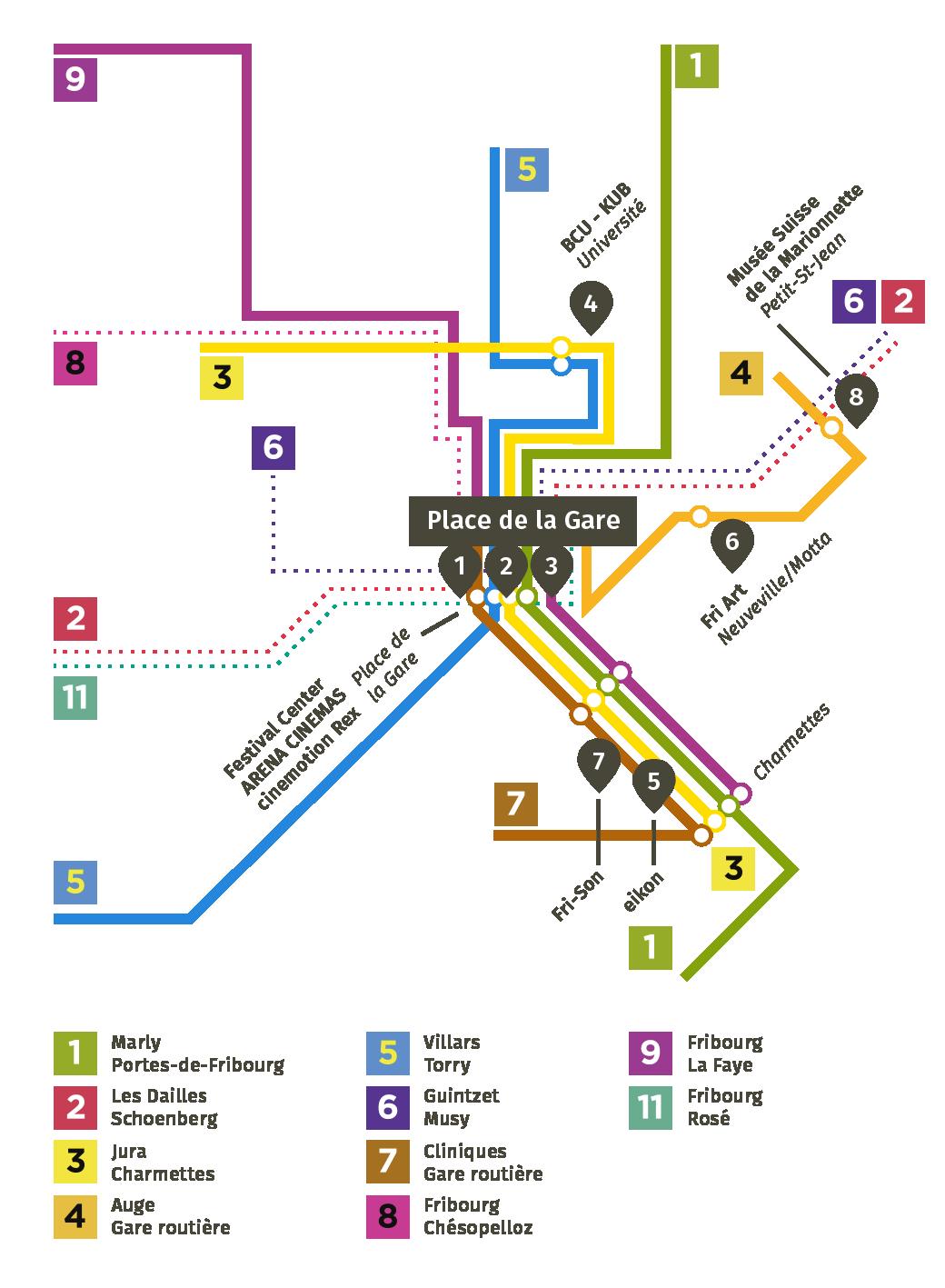 Public transport | Festival International de Films de Fribourg