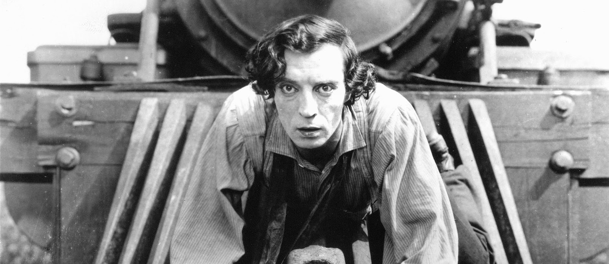 """The General"", Buster Keaton"